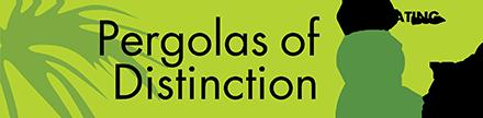 Pergolas of Distinction logo