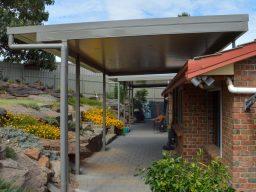 Advantages of a steel pergola, verandah or carport