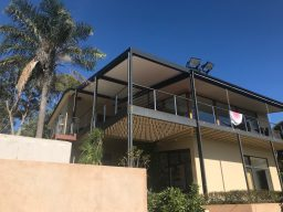 New pergola added to house in Mount Osmond, SA
