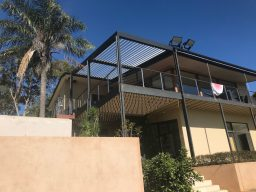 raised patio built by Pergolas of Distinction in Adelaide