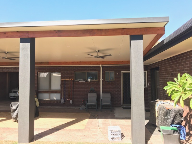 Columns with bondor insulated roof in North Haven, SA