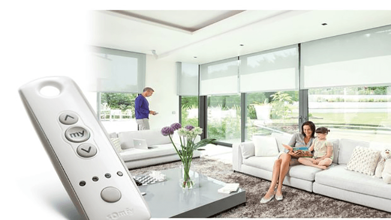 Remote Control Blinds Adelaide Boost Energy Saving Somfy Automation