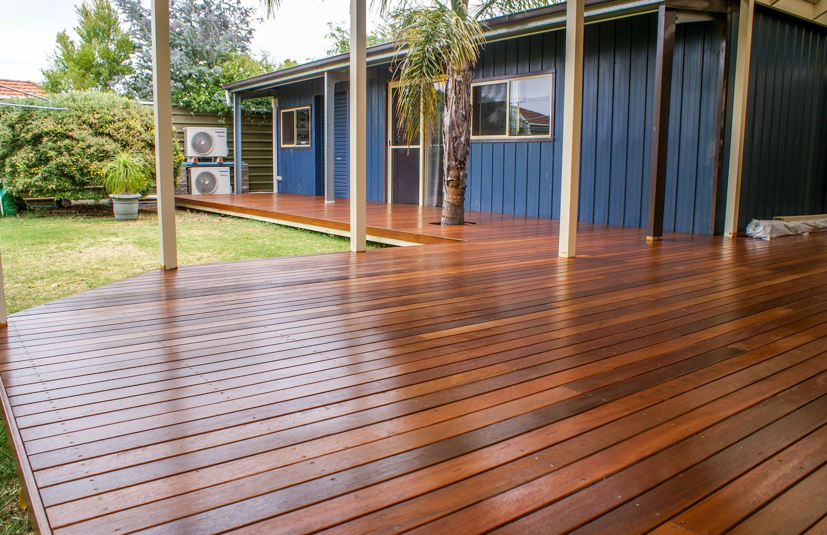 Timber decking pergolas of distinction adelaide for Which timber for decking