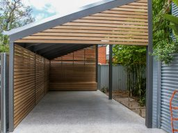 Hardwood timber carport in adelaide