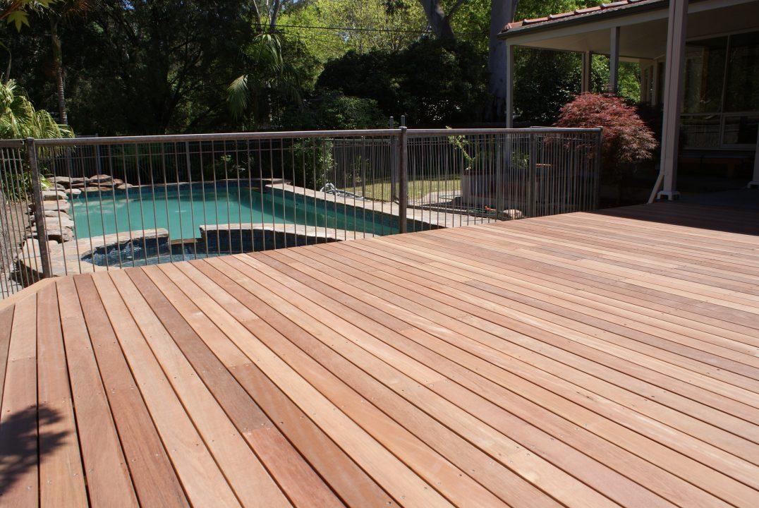 Timber Pool Decking