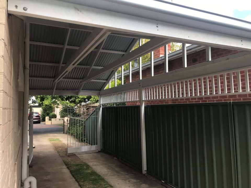 timber carport