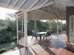 timber verandah