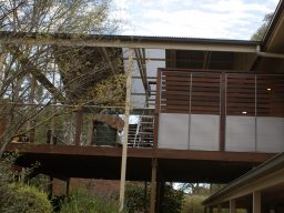 timber verandah screen