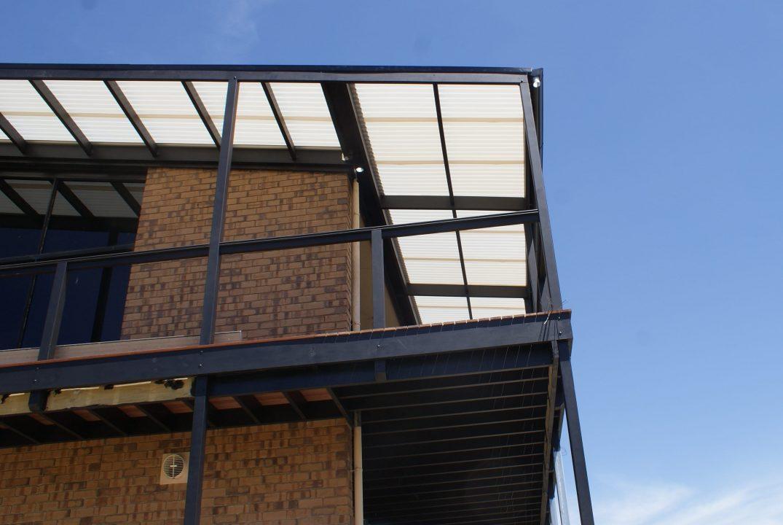 modern timber verandah