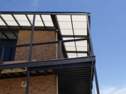 modern timber verandah