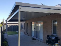 Steel verandah by pergolas of distinction