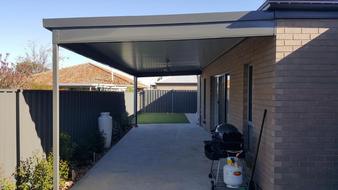 Steel verandah by pergolas of distinction