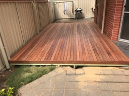 Timber Deck built by adelaide deck builder in Sturt